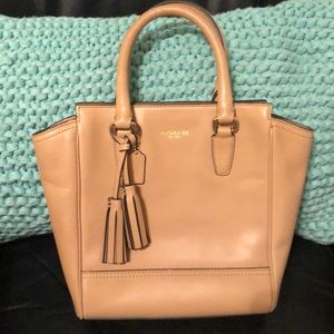 Tan coach  bag-new without tags